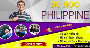 Du Học Philippine cùng New Golden Road